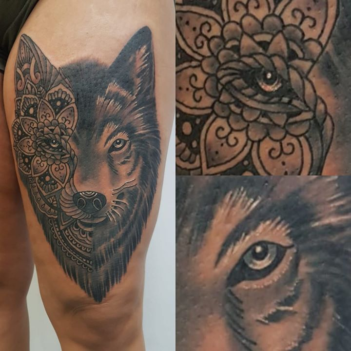 wolf by calmed tattoo & piercing supply Wolf by Calmed Tattoo & Piercing Supply 67539173 2223531931105972 6609280770995388416 o